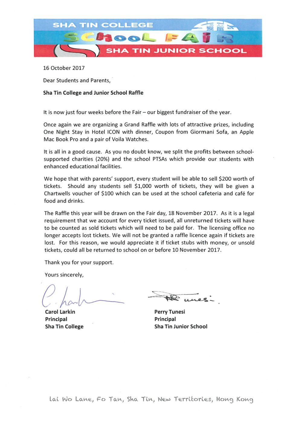 Transmittal Letter Sample For Proposal Request For Sponsorship